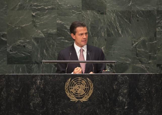 """""""México desea que estas ideas se traduzcan en beneficios concretos para los cinco mil pueblos indígenas que se estiman existen en el mundo"""", afirmó."""