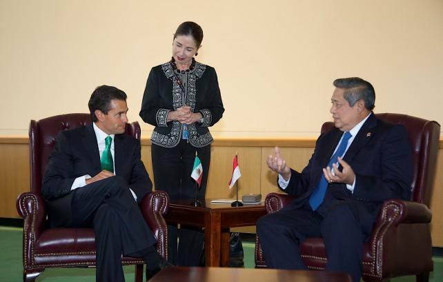 En el contexto de las reformas estructurales implementadas en México, el Presidente Peña Nieto señaló que existe interés en promover proyectos de cooperación técnica y científica en sectores tales como medio ambiente, energías, ciencia y tecnología.