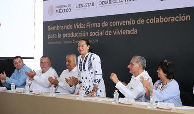 Con vivienda social se fomenta la permanencia y el arraigo en las comunidades: María Luisa Albores González
