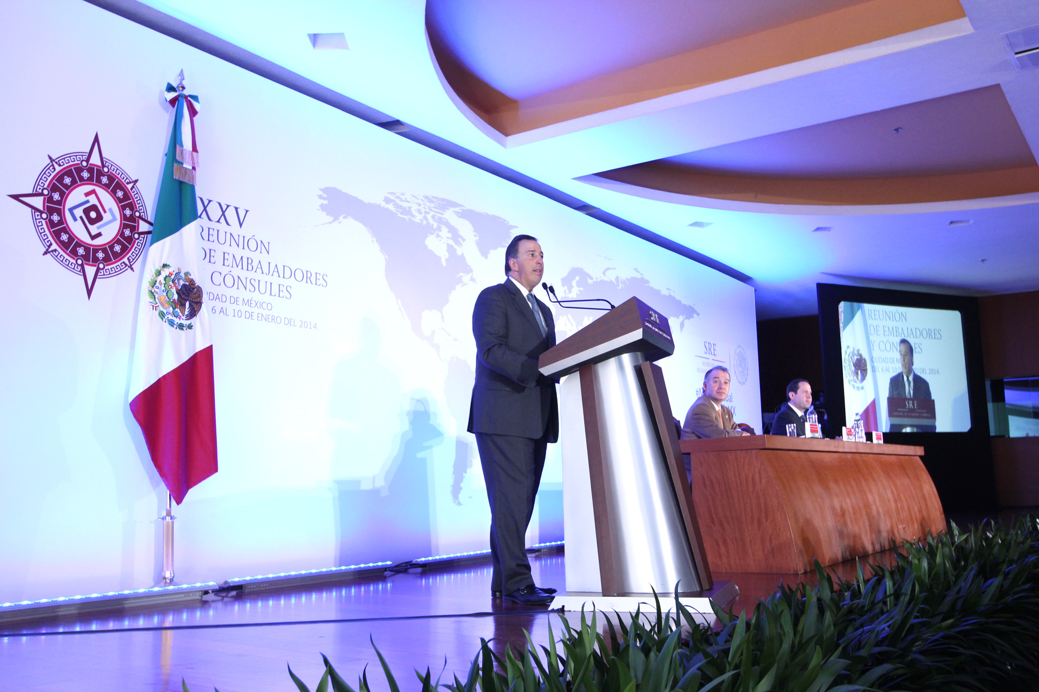 FOTO Inauguración de la XXV Reunión de Embajadores y Cónsules