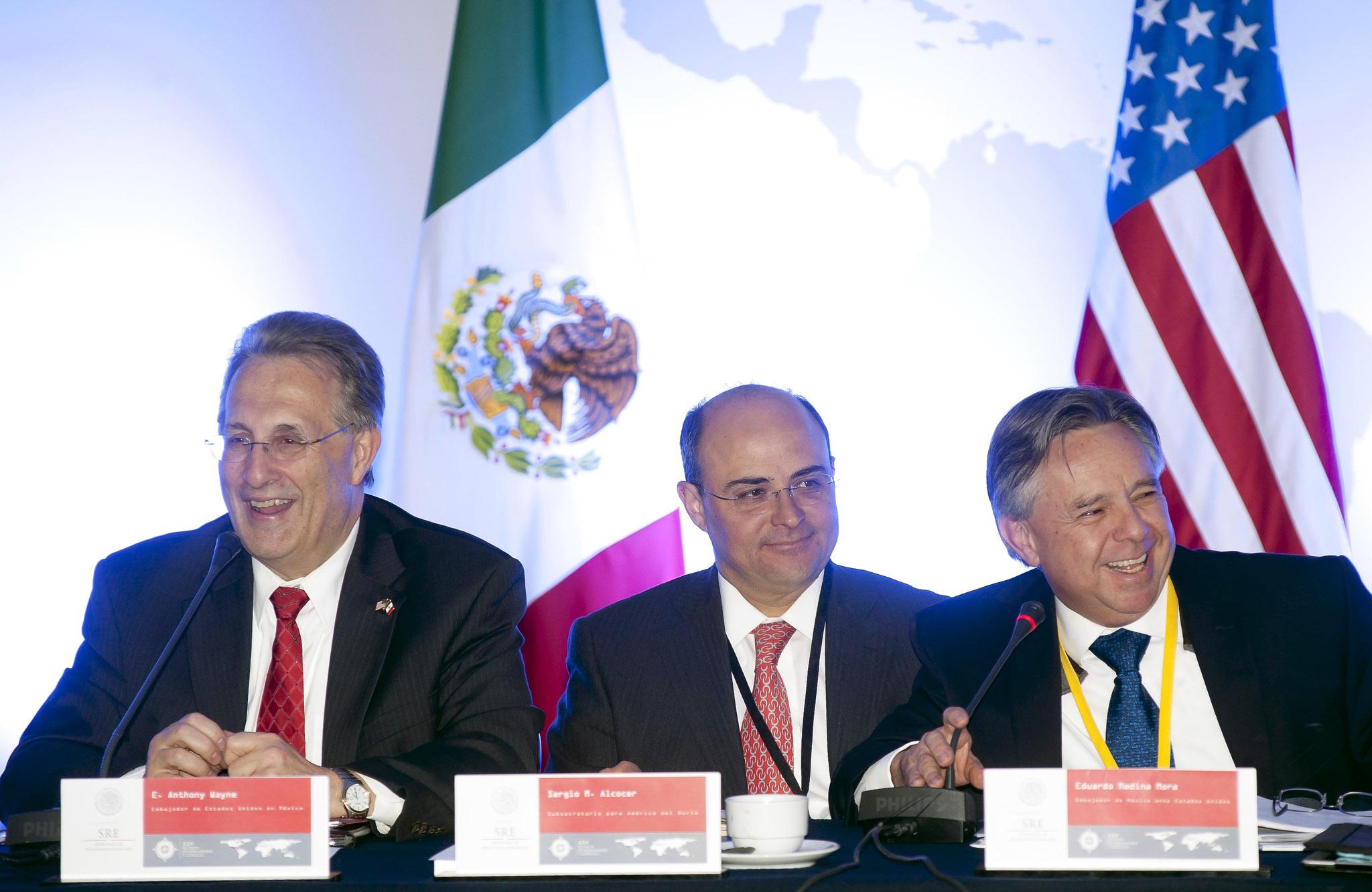 Reunión de cónsules México y EU