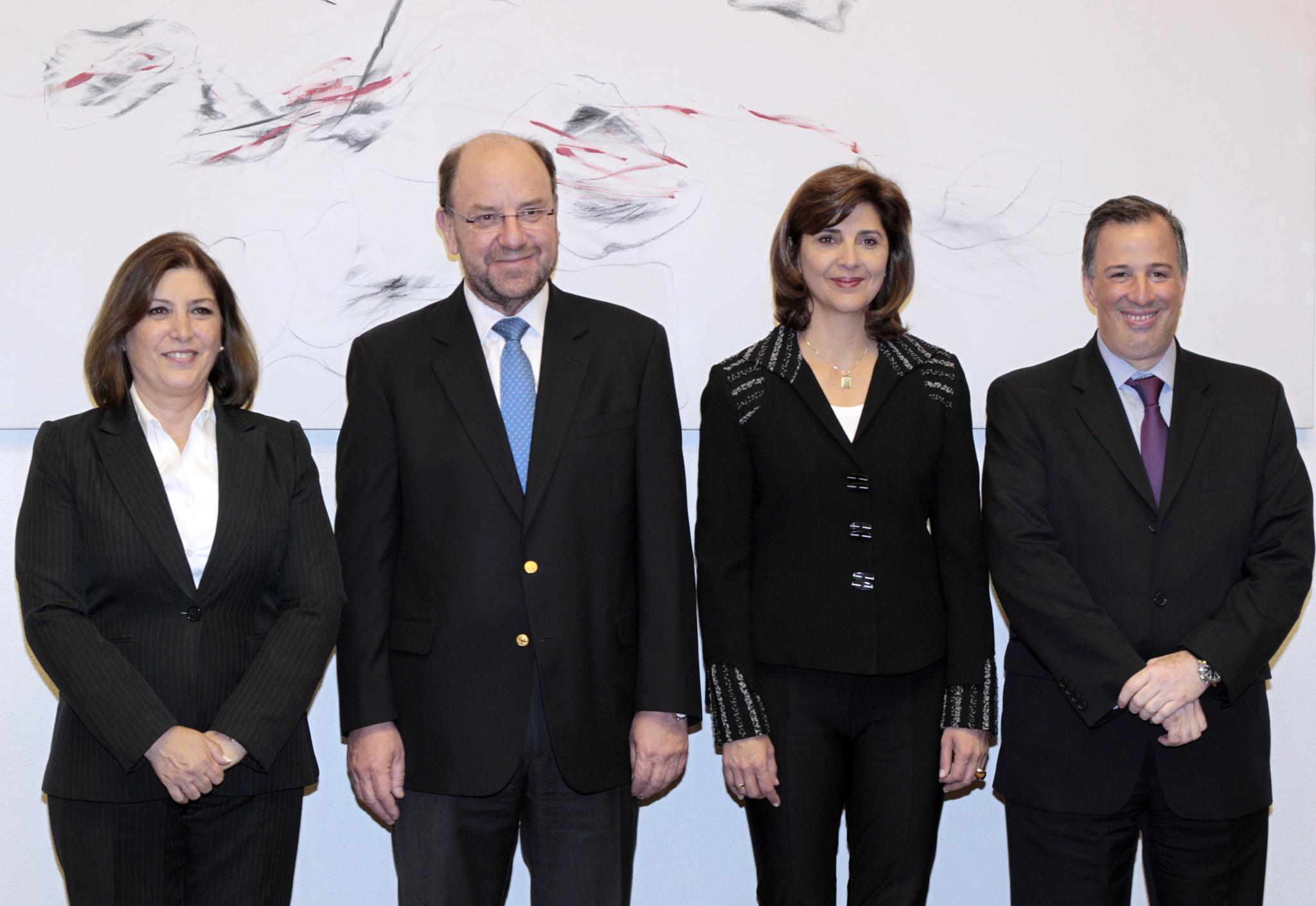 Los cancilleres de la Alianza del Pacífico realizan una visita a México