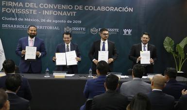 Se firmó un convenio a fin de que las y los trabajadores cuenten con más recursos económicos para adquirir, construir o remodelar una vivienda