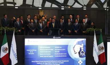 Coloca FOVISSSTE $10 mil millones en certificados bursátiles en la BMV