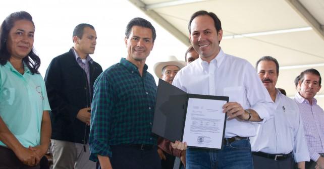El Titular del Ejecutivo Federal mencionó que México es el 12º productor más importante a nivel mundial en la actividad agrícola y pecuaria.