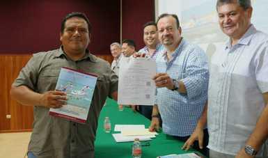 A través de la Comisión Nacional de Acuacultura y Pesca (Conapesca) entrega, de manera directa, 35.5 millones de pesos del componente Bienpesca en beneficio de cuatro mil 929 productores.
