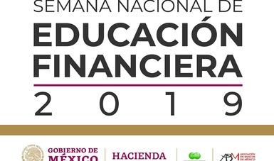 La Semana Nacional de Educación Financiera será del 7 al 13 de octubre de 2019.