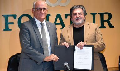 Firma de convenio FONATUR-UAM