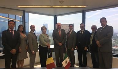 Bélgica cooperará con México en proyectos satelital y espacial