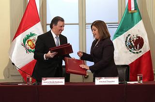 México y Perú firmarán un acuerdo de Asociación Estratégica
