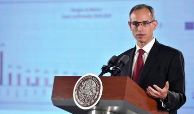 Dr. Hugo López Gatell.