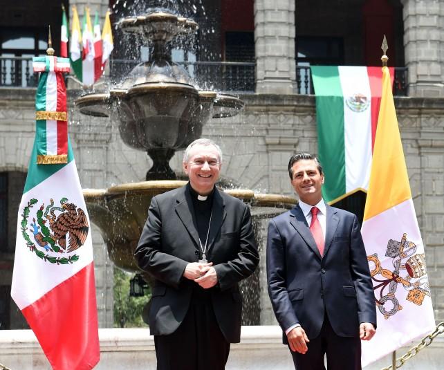 Mencionó que el pasado mes de junio se reunió con el Sumo Pontífice durante una visita oficial que realizó a la Santa Sede, encuentro durante el cual invitó al Obispo de Roma a visitar México