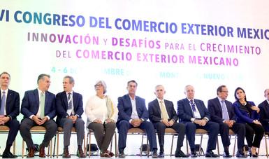 La Secretaria de Economía Participa en el XXVI Congreso del Comercio Exterior Mexicano y Entrega del Premio Nacional de Exportación