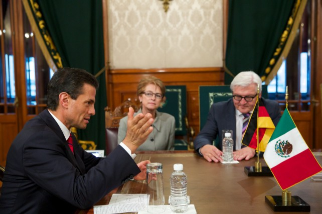 El ministro transmitió el saludo de la Canciller Ángela Merkel y le reiteró a su nombre la invitación para que el Primer Mandatario realice una visita a ese país europeo.