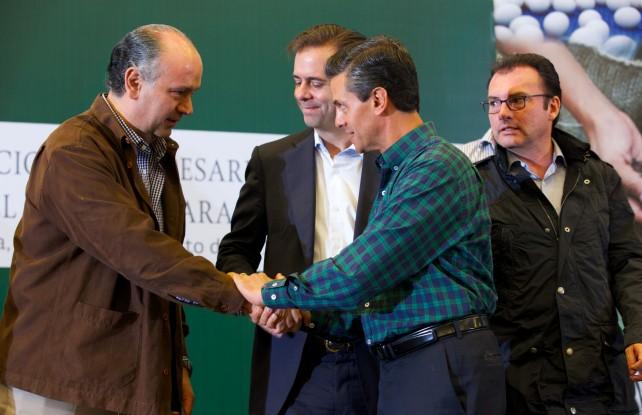 El Presidente de la República, Enrique Peña Nieto, anunció hoy la transformación de la Financiera Rural en la nueva Financiera Nacional de Desarrollo Agropecuario, Rural, Forestal y Pesquero