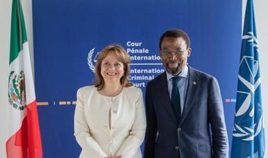 Visita de Trabajo de la subsecretaria para Asuntos Multilaterales y Derechos Humanos a los Países Bajos