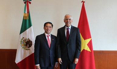 México y Viet Nam celebran la V Reunión del Mecanismo de Consultas Políticas