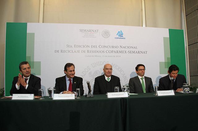 Presentación del Concurso de Reciclaje Coparmex - Semarnat