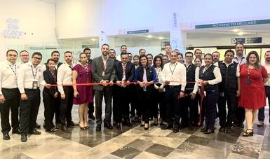 El SAT retira semáforo fiscal en el Aeropuerto Internacional de Monterrey