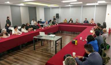 En este primer encuentro de intercambio de experiencias e ideas estuvieron presentes más 30 representantes de organizaciones.