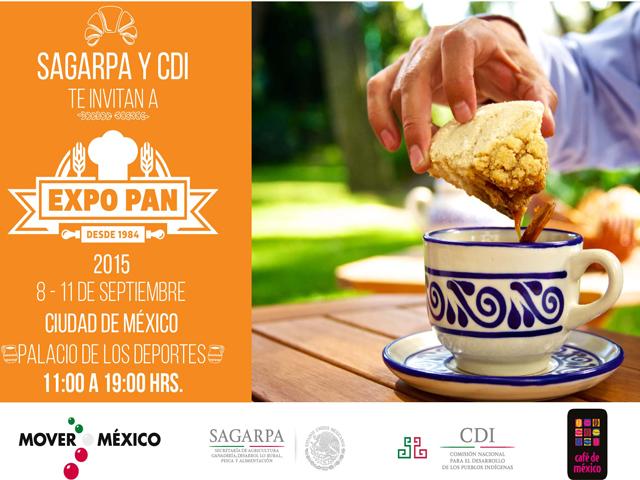Del 8 al 11 de septiembre, la (SAGARPA) respaldará la participación de representantes de pequeños productores de café del centro y sur del país en la XVII edición de Expo Pan.