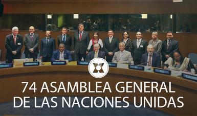 74 ASAMBLEA GENERAL DE LAS NACIONES UNIDAS