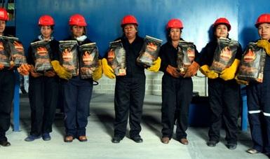 Actualmente la empresa Viborillas da empleo a 10 mujeres, quienes son parte fundamental en la producción y comercialización del carbón.