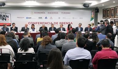 Conferencia de prensa para el lanzamiento de la edición 2019 de El Buen Fin