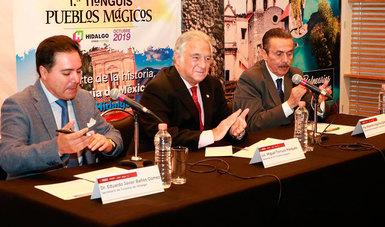 El Secretario de Turismo, Miguel Torruco Marqués, confirmó hoy la realización del Primer Tianguis de Pueblos Mágicos, que se llevará a cabo del jueves 24 al domingo 27 de octubre en las instalaciones de la Feria de Pachuca, en el estado de Hidalgo.