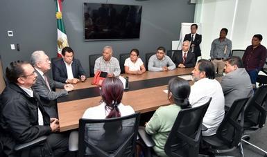 Firma de convenios de coordinación entre la SCT y los municipios de Cochoapa el Grande y Metlatónoc, Guerrero