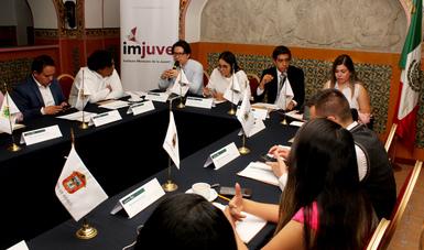Tercera sesión ordinaria del Consejo Ciudadano de Seguimiento de Políticas Públicas en Materia de Juventud (Consepp)