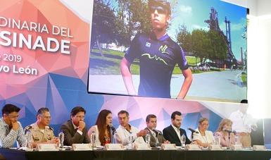 La titular se reunió con representantes de institutos estatales y federaciones deportivas nacionales.