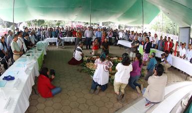 La autoridad ambiental y 16 comunidades de Oaxaca dieron por concluida la cuarta y penúltima etapa del proceso de consulta indígena para reglamentar el aprovechamiento del acuífero de Valles Centrales.