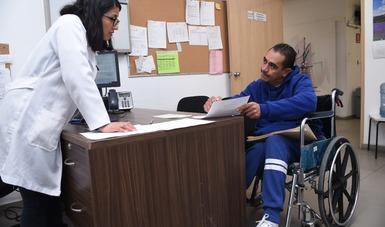 Servicios y atención para personas con discapacidad.