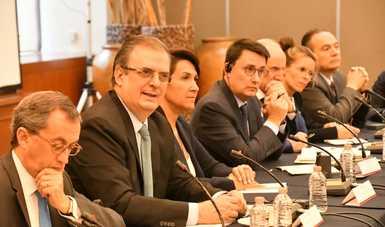 Encuentro entre secretarios de Desarrollo Económico y una delegación de líderes empresariales de la Confederación Patronal Francesa (MEDEF)