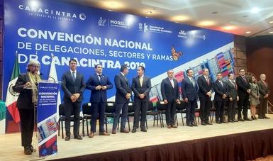 Conferencia Magistral de la Secretaria de Economía, Graciela Márquez, en el marco de la Convención Nacional de Delegaciones, Sectores y Ramas 2019, de Canacintra