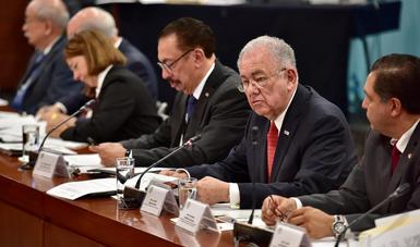Glosa del Primer Informe de Gobierno en la Cámara de Senadores