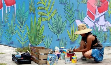 Se realizó el Proyecto Ciudad Mural Puebla, el cual se trabajó de forma simultánea en tres sedes.