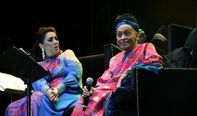Omara Portuondo, y Regina Orozco, dejaron Pedazos del Corazón en un concierto que quedará en la memoria del Complejo Cultural Los Pinos.