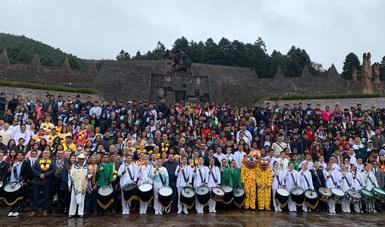 Estudiantes de 20 entidades del país, se reúnen para intercambiar experiencias y fortalecer sus lazos y tradiciones originarias.