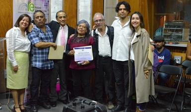 Radio Educación presentó a los ganadores de la convocatoria Nimbeë 2019, los cuales fueron presentados en conferencia de prensa en el Estudio A de la radio cultural de México.