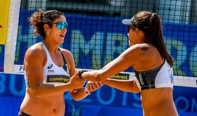 La dupla femenil se prepara en Mazatlán para el certamen que se realizará del 13 al 17 de noviembre.