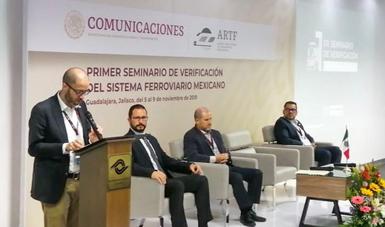 Primer Seminario de Verificación del Sistema Ferroviario Mexicano