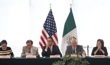 Resaltaron la importancia de dar continuidad y reforzar la cooperación bilateral para encontrar soluciones integrales binacionales que permitan atender los retos ambientales que enfrenta la región fronteriza.