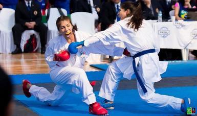 La poblana conquistó la medalla de oro en los -61 kilogramos en el Campeonato Panamericano de karate, celebrado en Panamá.