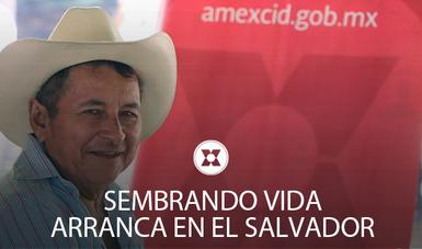 Del 6 al 8 de noviembre, se inscribieron 250 primeros beneficiarios en el programa de fomento al campo en El Salvador
