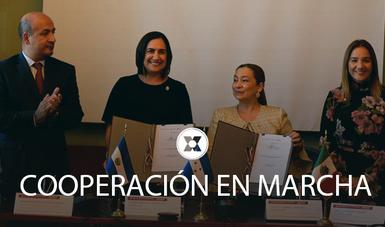 Los contratos de donación: un reflejo del éxito obtenido en la cooperación con la República de Honduras en el camino hacia el desarrollo regional