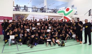 Participaron más de 90 representantes procedentes de 27 estados y ocho organismos deportivos.