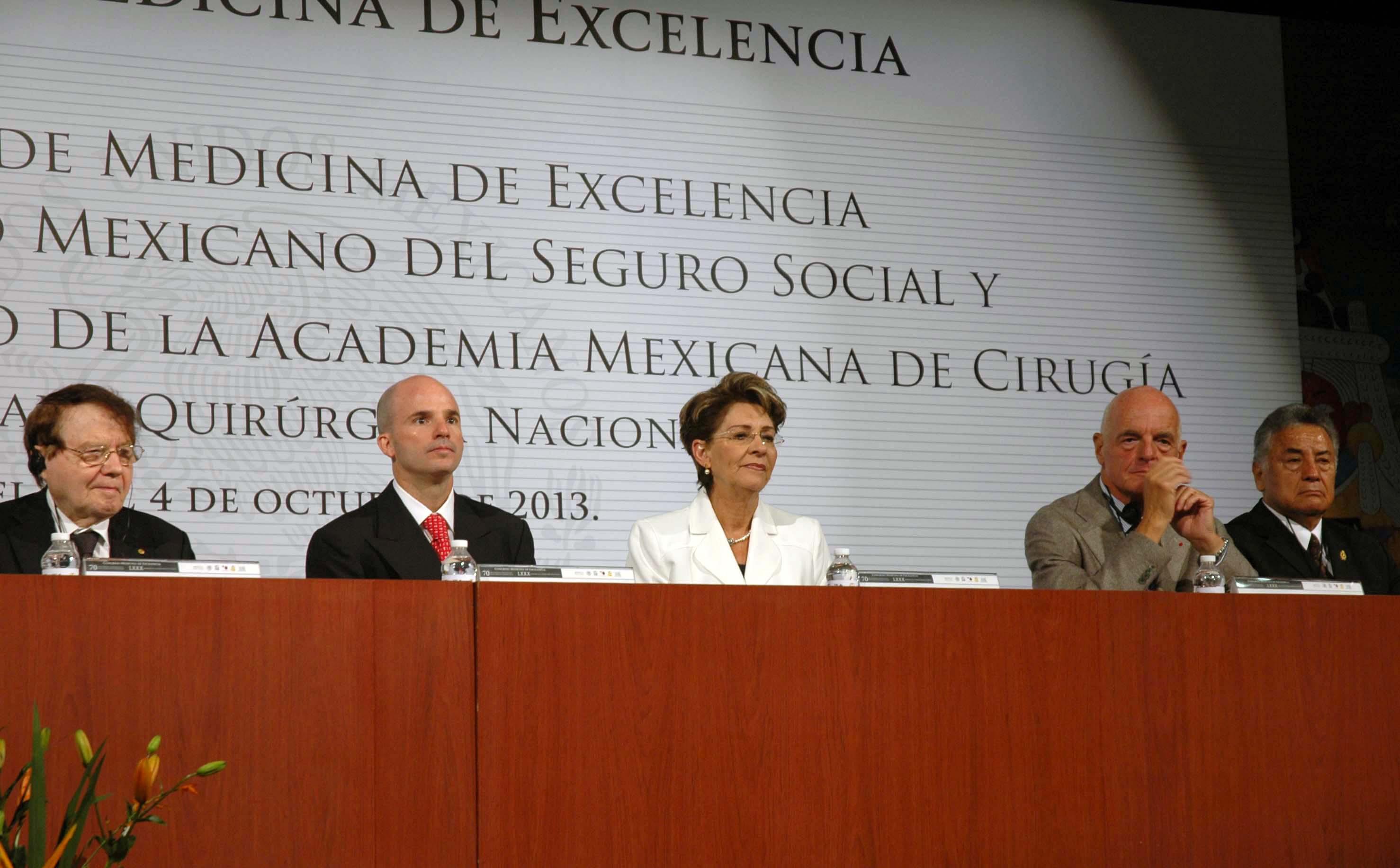 Ceremonia del 70 aniversario del IMSS