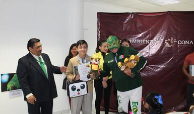 """El pasado 25 de octubre, se llevó a cabo la premiación del Concurso Nacional de Dibujo Infantil 2019 """"Vamos a pintar un árbol"""", en su etapa estatal en la Ciudad de México."""